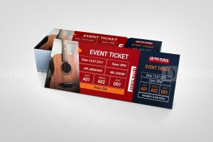 Best Event Ticket Template