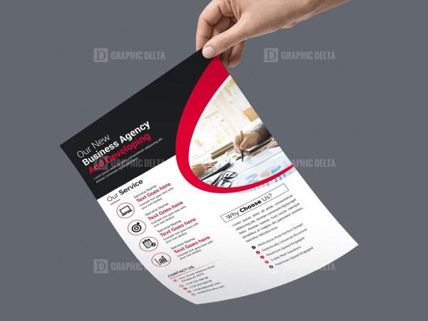 PSD Minimal Flyer Template