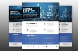 PSD Technology Flyer Template