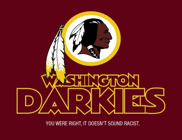Washington Redskin Darkies