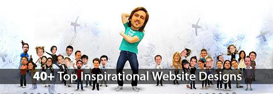 Post image of Inspirational Website Designs: 40+ Top Website Designs For Designers