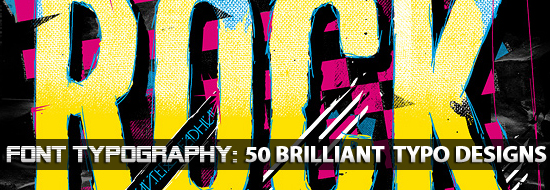Post image of Font Typography: 50 Brilliant Typography Designs To Inspire You