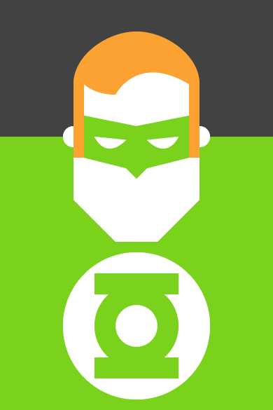 Green Lantern Illustration