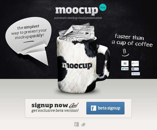 Moocup Coming Soon Page Design