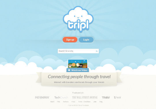 Tripl Coming Soon Page Design