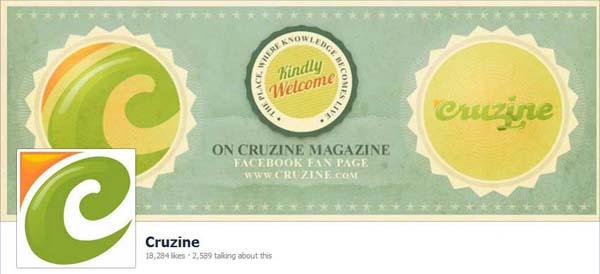 Cruzine Facebook Timeline Cover
