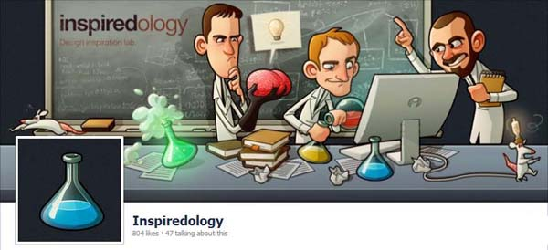 Inspiredology Facebook Timeline Cover