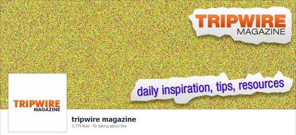 Tripwire Magazine Facebook Timeline Cover