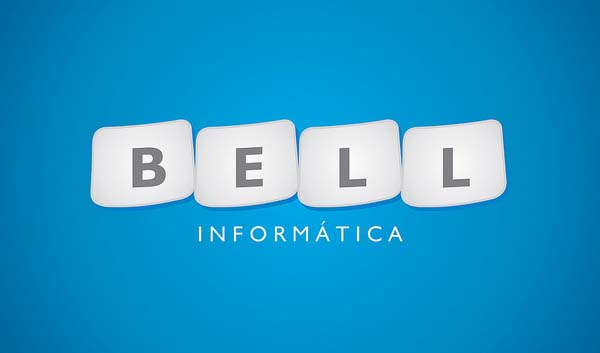 Bell Informatica logo design