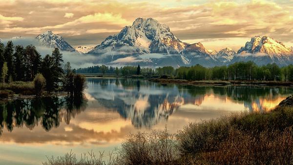 Beautiful Landscape Reflection Photo Images