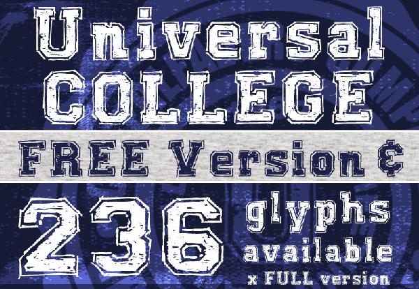 Excellent free fonts for desigenrs 16