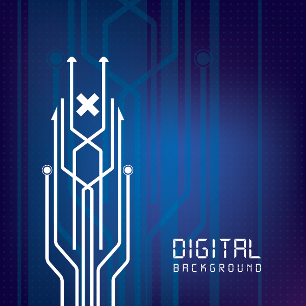 Digital Vector Background Graphics