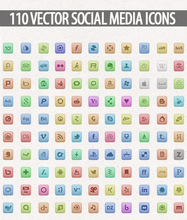 Free Vector Icons Pack 10