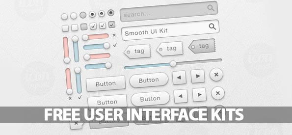Beautiful UI Kits For Web and Graphic Designers - Best Post Of 2012