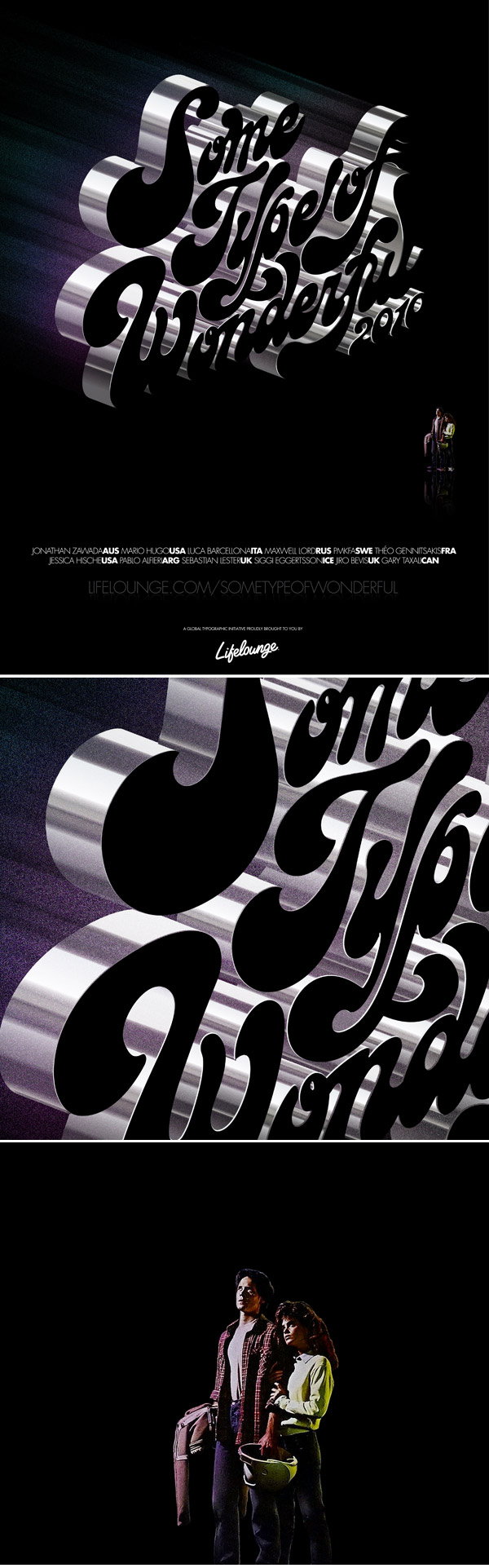 Typography Posters Design 17