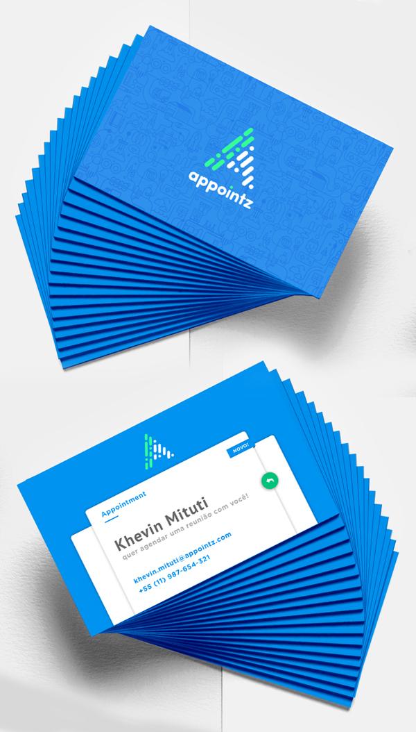 Branding: Appointz - Business Card
