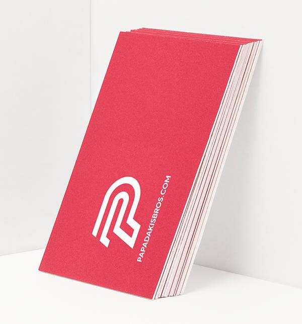 Branding: Papadakis Bros - Business Card