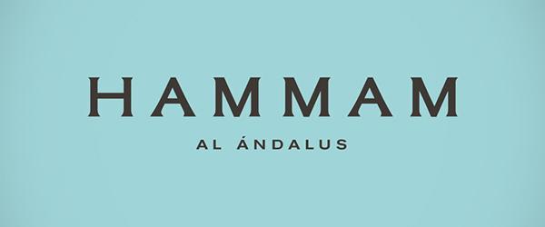 Branding: HAMMAM AL ÁNDALUS - Logo design