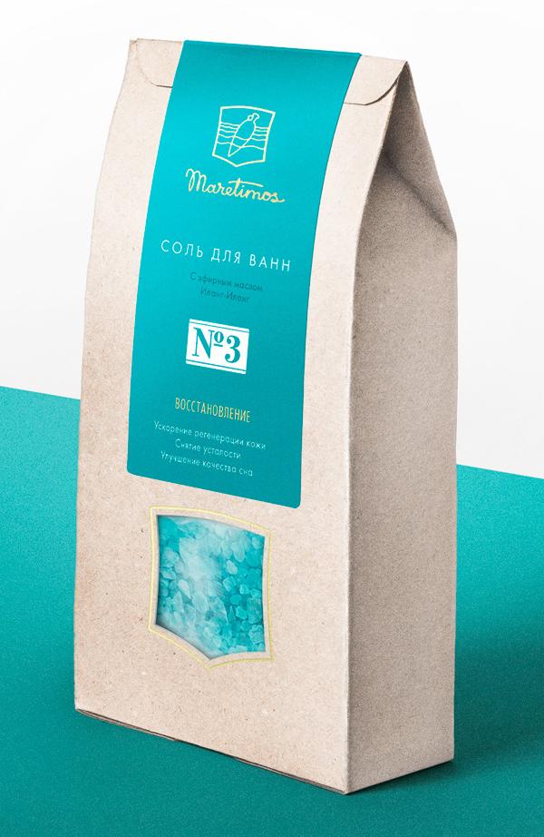 Branding: Maretimos - Packaging Design