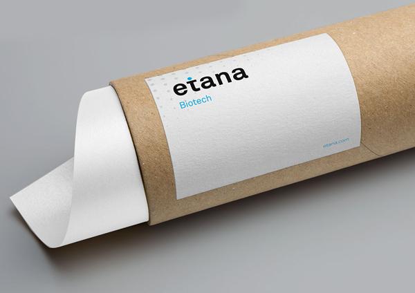 Branding: etana BioTech - Stationary Items