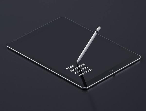 Creativo iPad Pro Maqueta gratuito