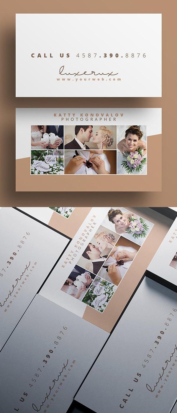 Plantillas PSD de tarjetas de presentación para fotógrafos ...