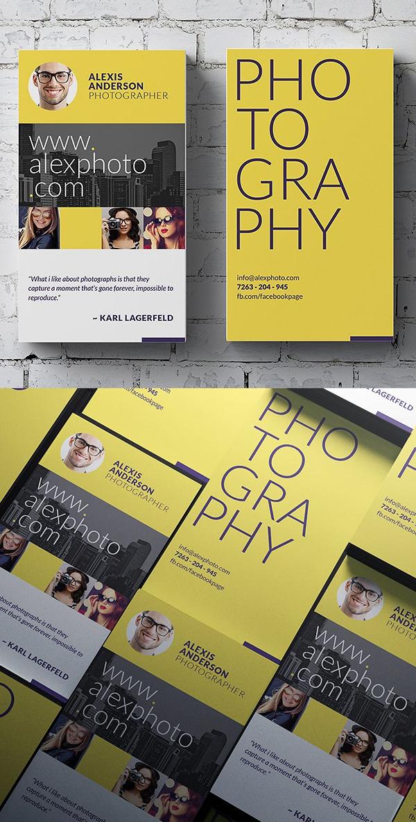 26 plantillas modernas de tarjetas presentación diseño listo para