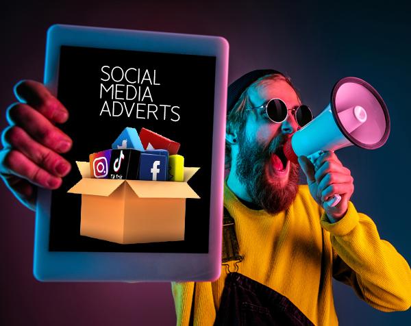 Social media adverts