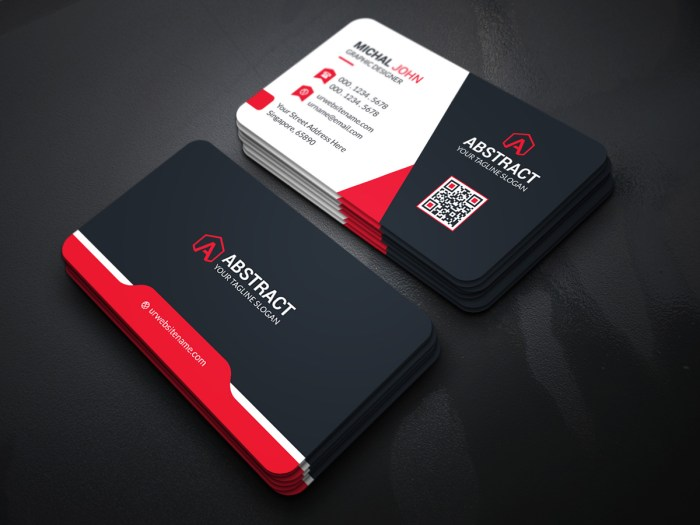 Dark Elegant Business Card Template