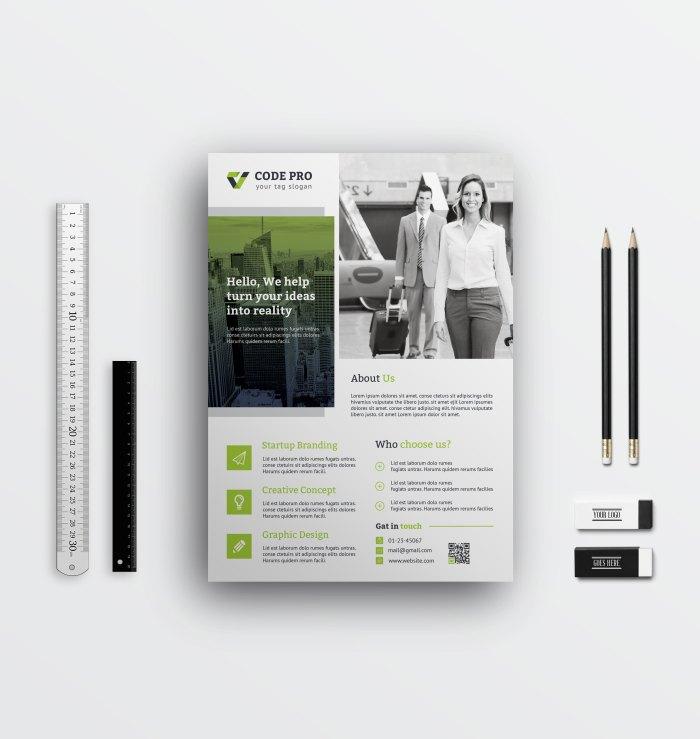 Minimal Corporate Flyer Designs