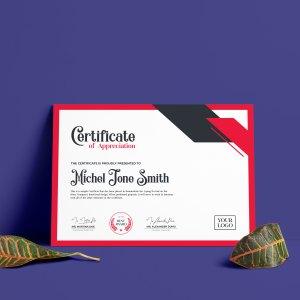 Creative Certificate Design Template