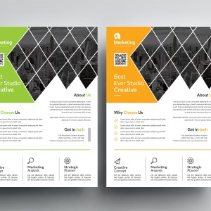 Best A4 PSD Flyer Templates