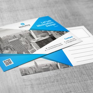 Best PSD Postcard Templates