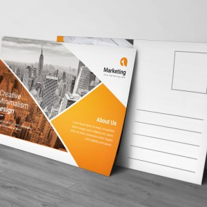 PSD Business Postcard Templates