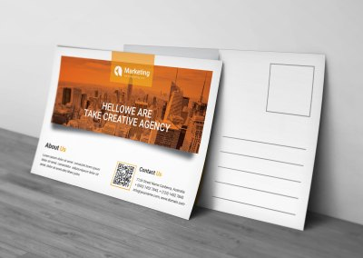 PSD Business Postcards