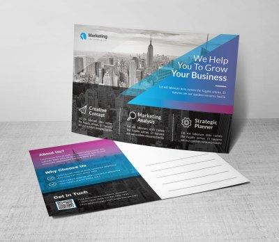 PSD Corporate Postcard