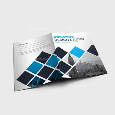 EPS Creative Presentation Folder Design