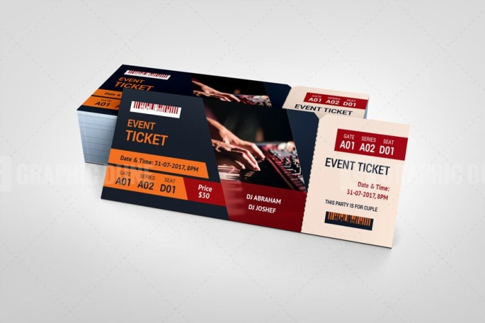 Top Event Ticket Template