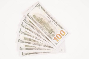 Seven Hundred Dollars Stock Photo