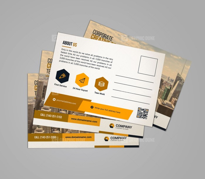 Creative Business Postcard Design