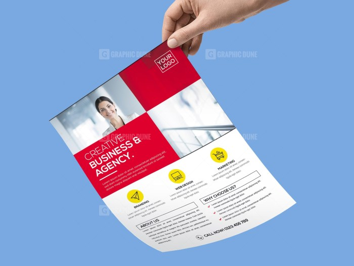 Modern PSD Flyer Template