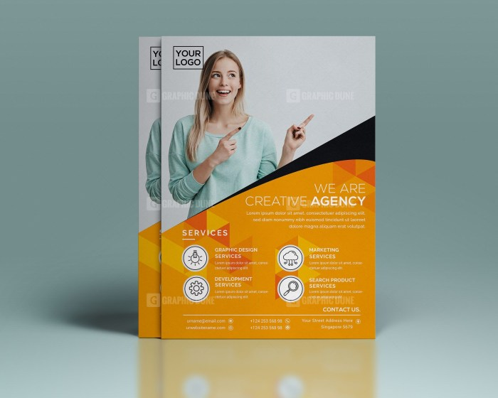 PSD Creative Corporate Flyer Design