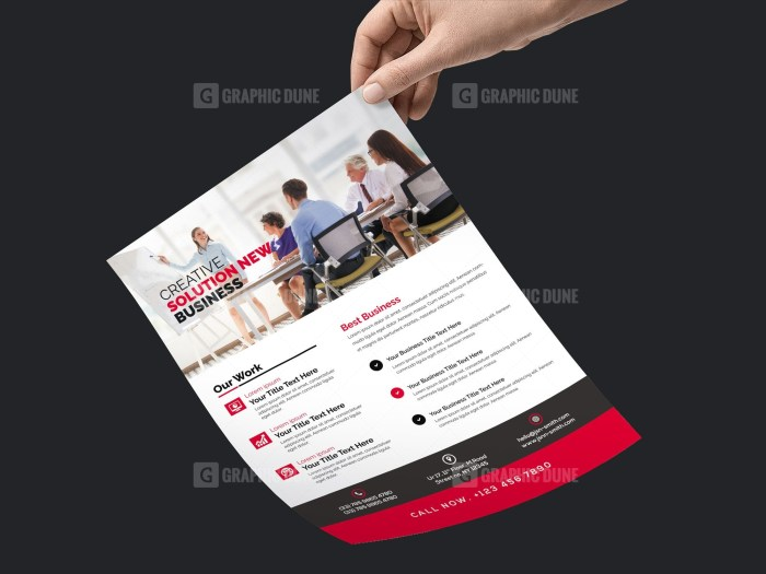 PSD Clean Business Flyer