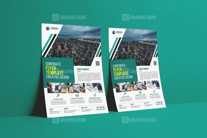 Modern Print Flyer Template
