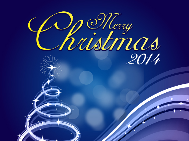 7 Christmas And Happy New Year Greeting Cards GraphicLoads