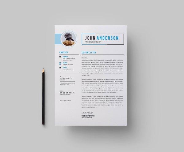 Stylish CV Design Template