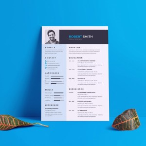 EPS Creative Resume CV Template