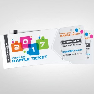 Colorful Event Ticket Templates