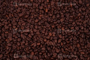 Coffee beans roasted stock photo