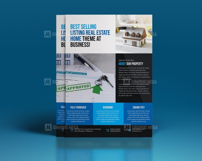PSD Real Estate Flyer